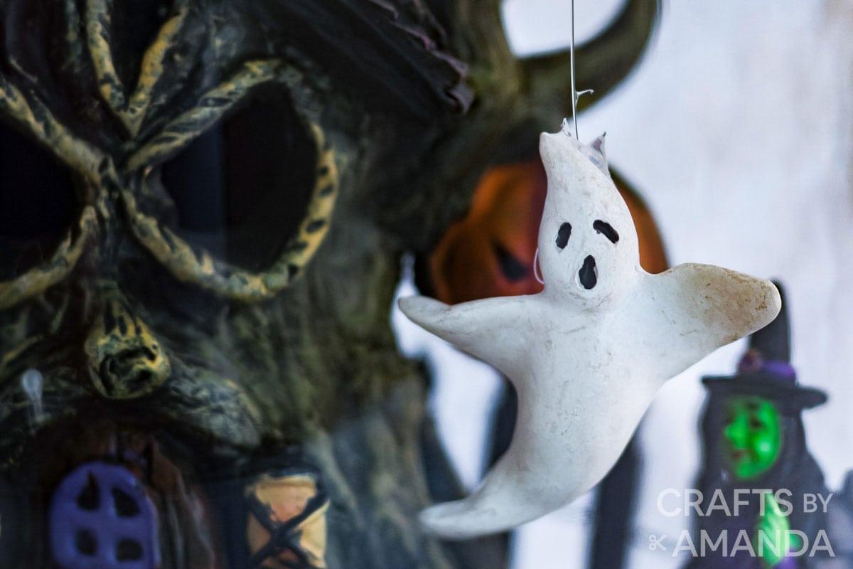 tiny ghost figurine