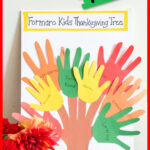 pinterest graphical image for thanksgiving handprint tree