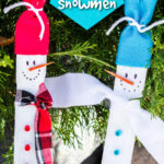 paint stick snowman pinterest image with text