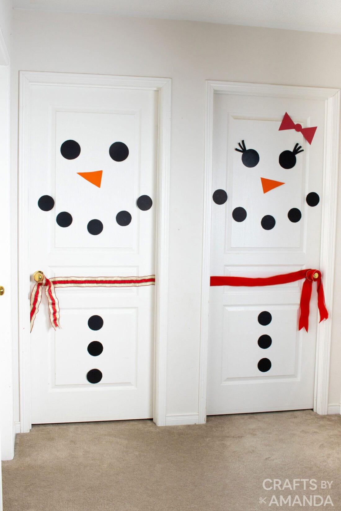 snowman doors