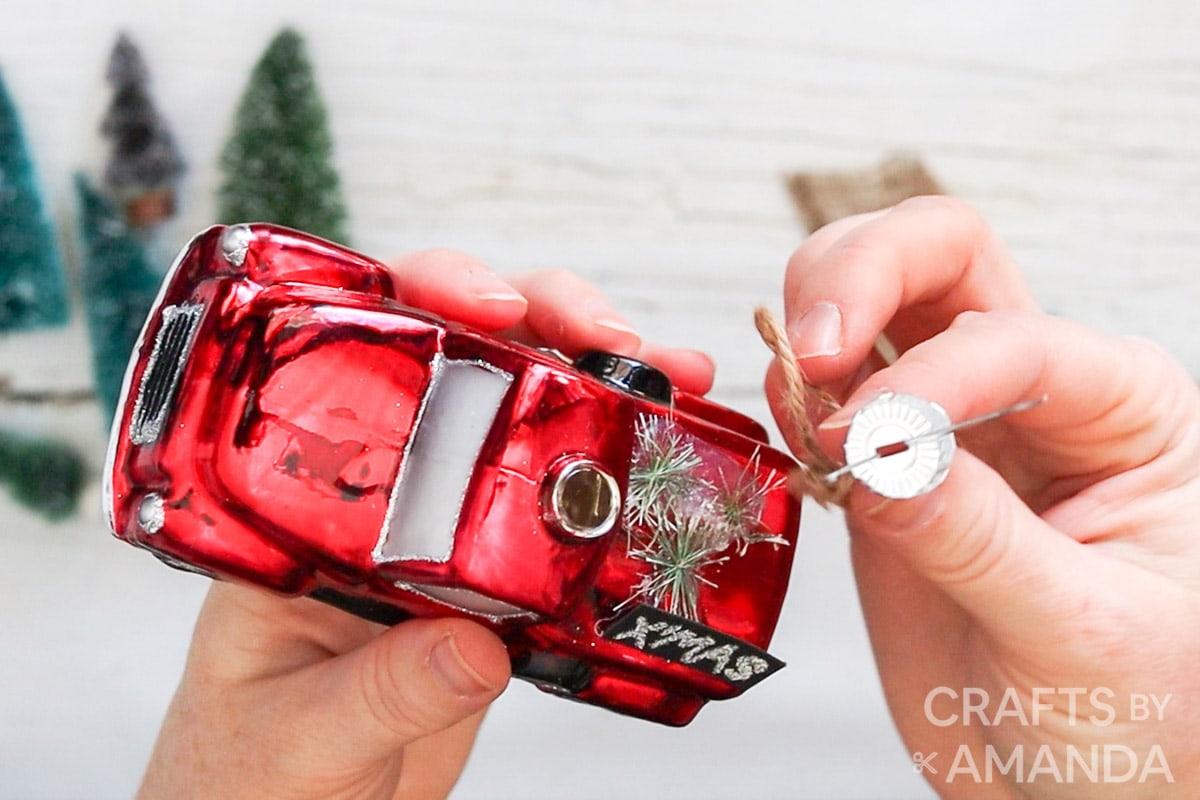 removing ornament cap
