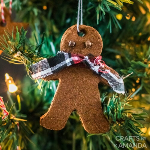 cinnamon ornament gingerbread man