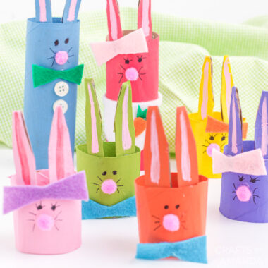 cardboard tube bunny rabbits