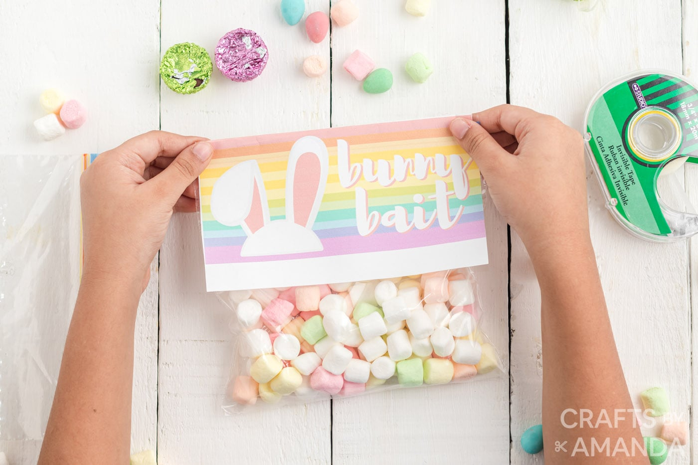 child holding treat bag