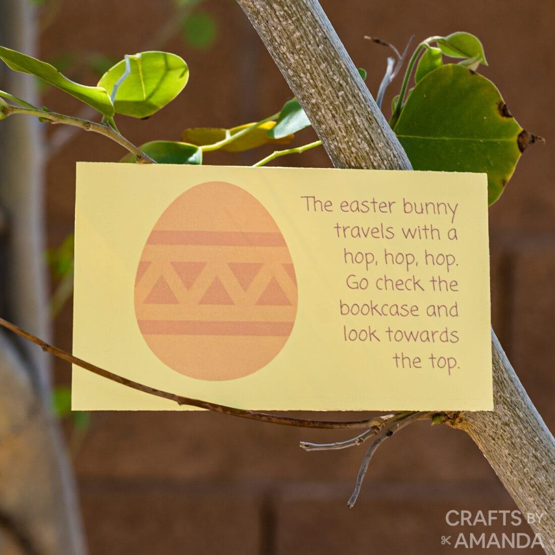 Printable Easter Scavenger Hunt