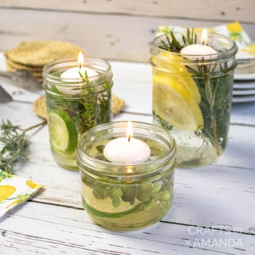 DIY Mosquito Repellent Candles