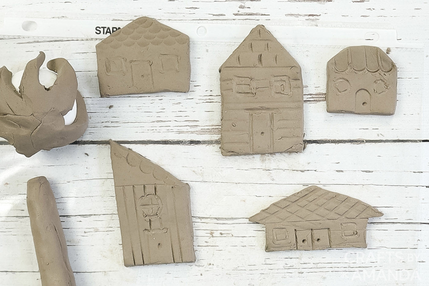 houses made with clay