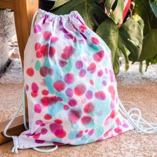 Drip Tie Dye Backpack