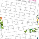 3 calendar pages