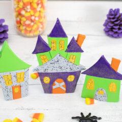 Clay Halloween-dorp